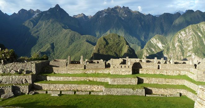 Machu Picchu and Putucusi Mountain