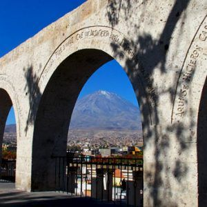 Yanahuara viewpoint in Arequipa